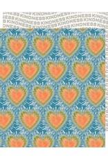 Jen Hadfield 12 x 12 Decorative Paper Tie Dye Hearts