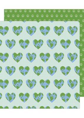 Jen Hadfield 12 x 12 Decorative Paper One World