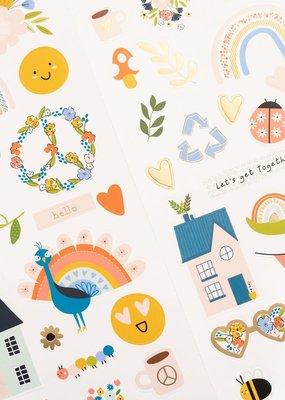 Jen Hadfield Stickers Reaching Out