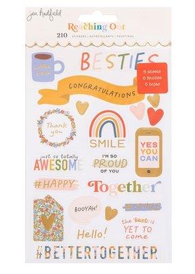 Jen Hadfield Sticker Book Reaching Out