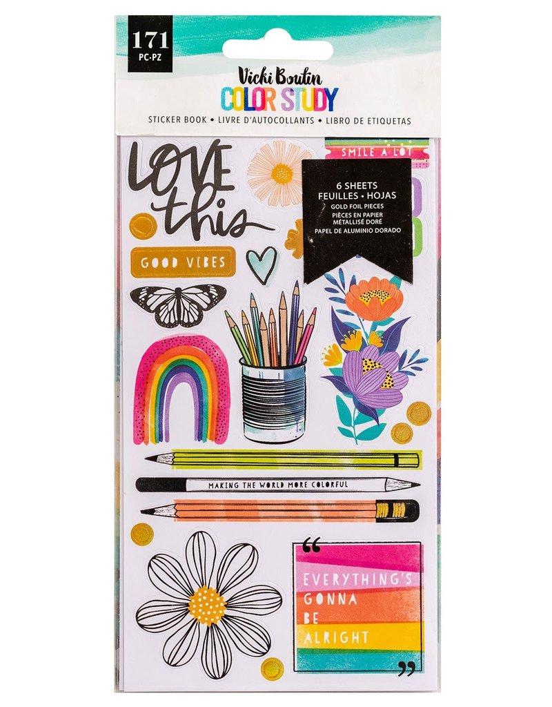 Vicki Boutin Sticker Book Color Study