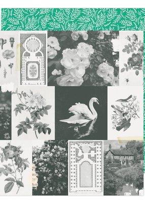 American Crafts 12 x 12 Decorative Paper Garden Greens