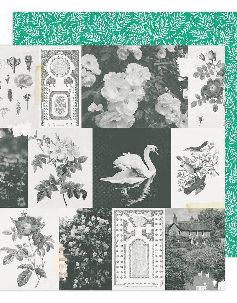 Maggie Holmes 12 x 12 Decorative Paper Garden Greens