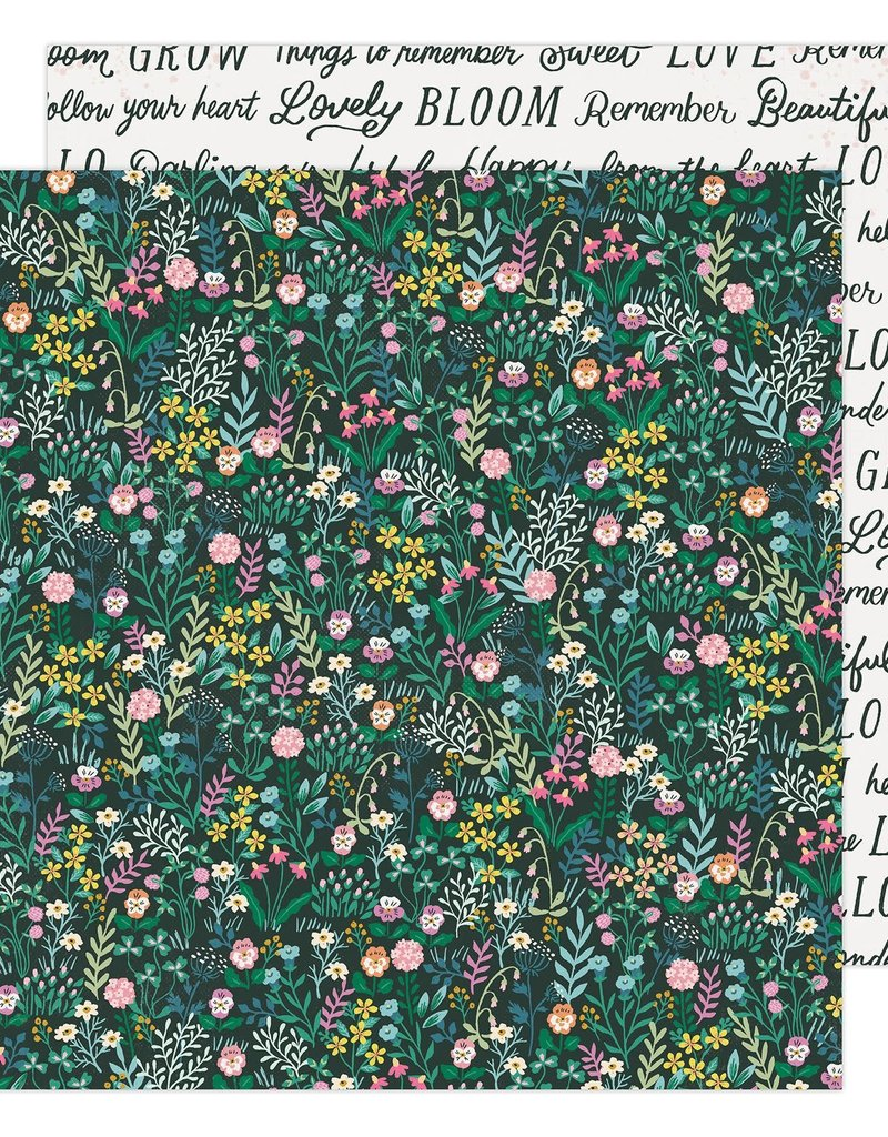 Maggie Holmes 12 x 12 Decorative Paper Happy Growing