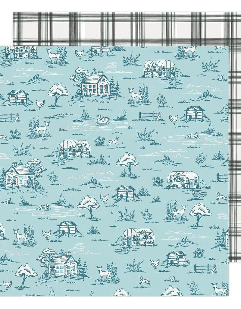 Maggie Holmes 12 x 12 Decorative Paper Gingham Grove