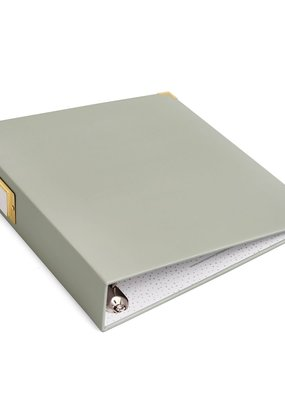 We R Memory Keepers Album 8.5 x 11 Paper Wrapped Slate
