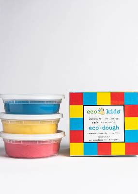 eco-kids Eco Dough 3 Pack Primary