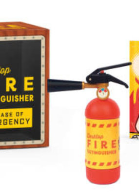 Running Press Desktop Fire Extinguisher