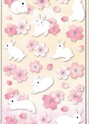Sticker Sakura Rabbit