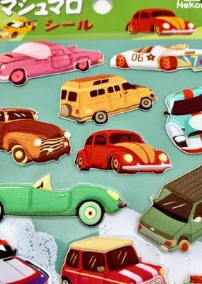 Stickers Cars Puffy