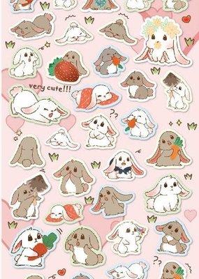 Stickers Rabbit Flat