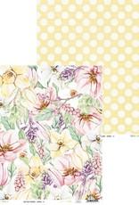 collage 12 x 12 Decorative Paper Spring 01