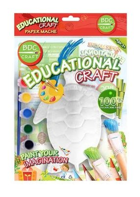 BDC Craft Paper Mache Paint Kit Sea Life