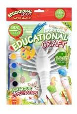 BDC Craft Paper Mache Paint Kit Sea Life