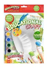 BDC Craft Paper Mache Paint Kit Terrestrial Animals