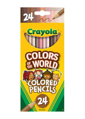 Crayola Colors of the World Colored Pencils 24 Count
