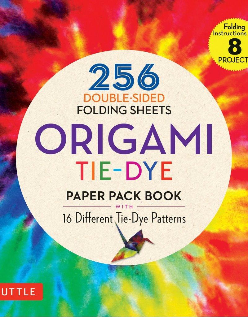 Tuttle Publishing Origami Paper Tie-Dye 256 Sheets