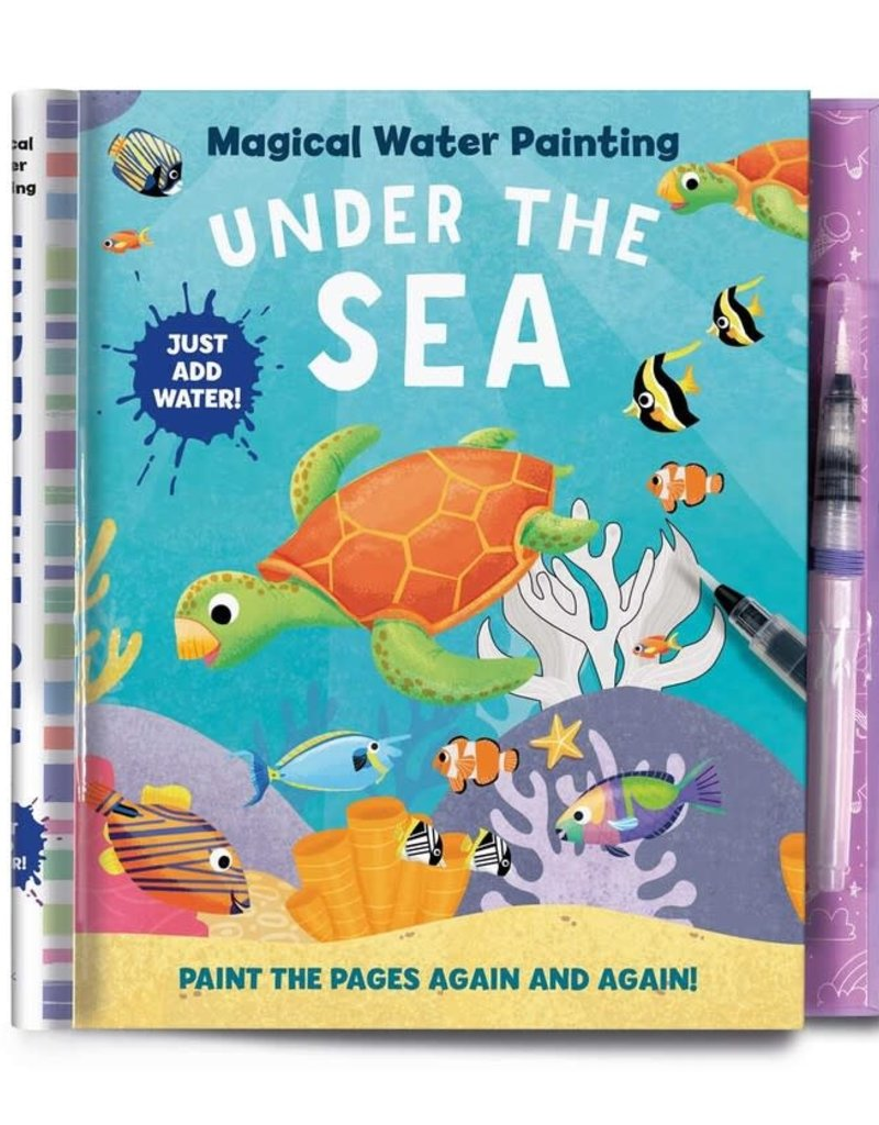 Simon & Schuster Magical Watercolor Painting Under the Sea