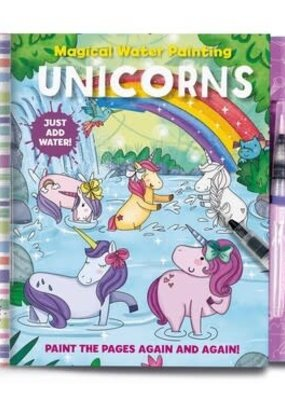 Simon & Schuster Magical Watercolor Painting Unicorns