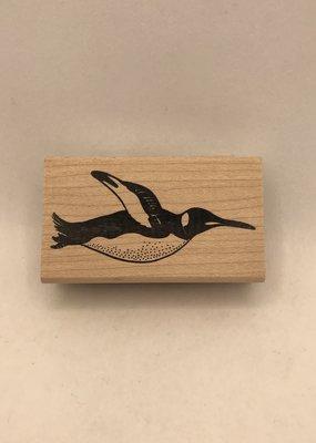 collage Stamp Penguin
