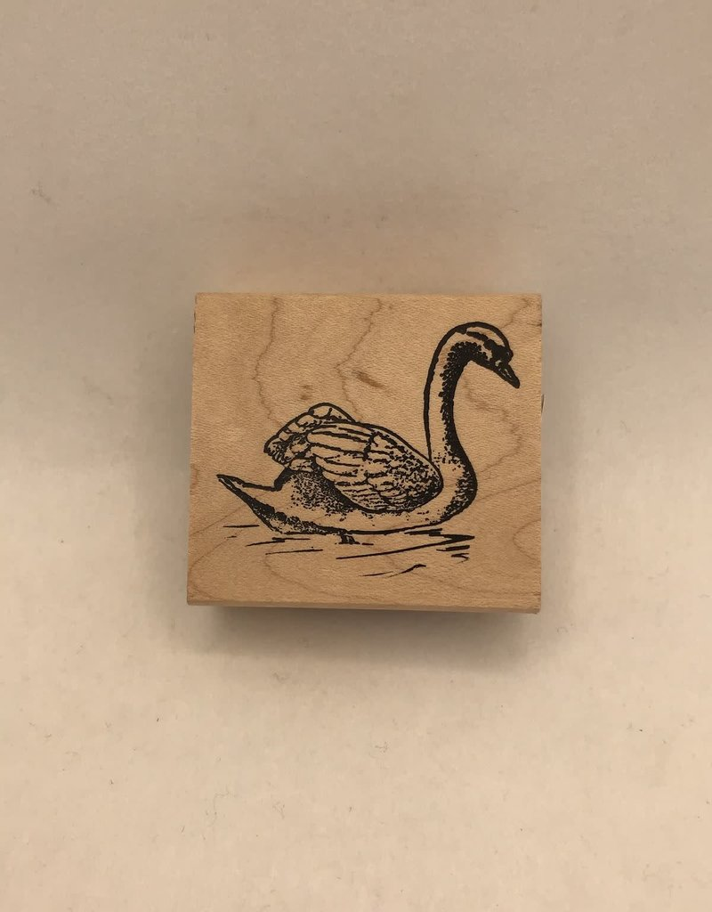 collage Stamp Swan