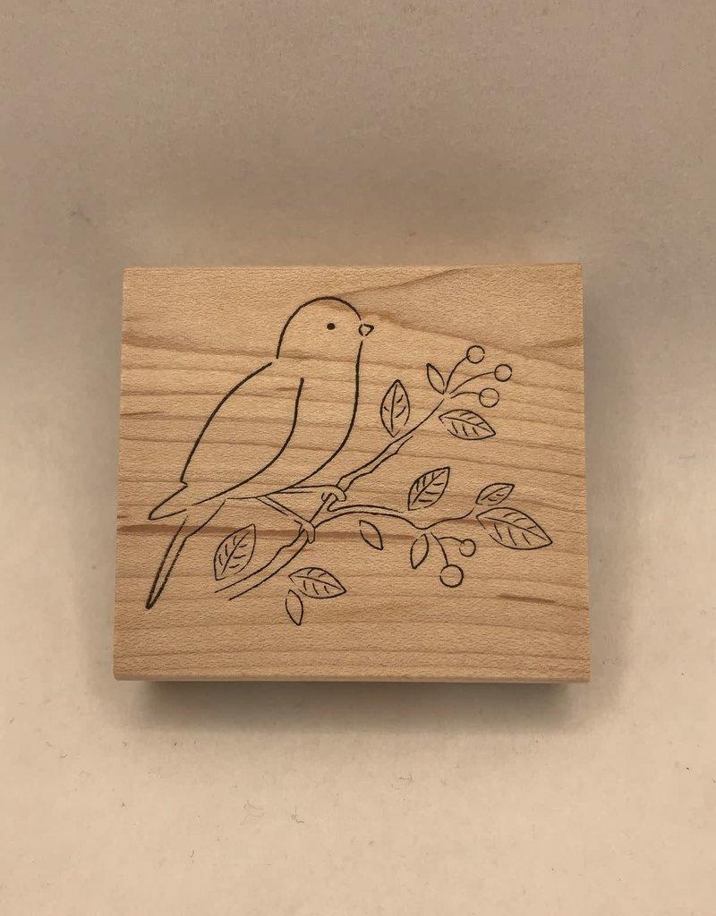 collage Stamp Petey Bird