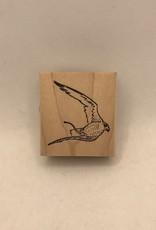 collage Stamp Hawk