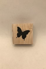 collage Stamp Solid Butterfly