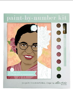 elle cree Paint By Number Kit Rosa with Roses