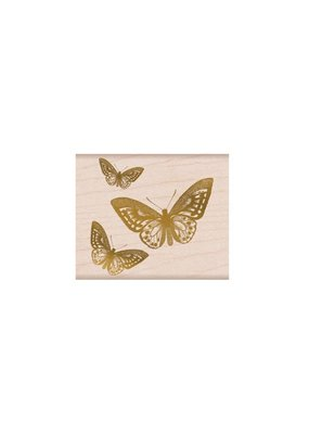Hero Arts Stamp 3 Butterfly