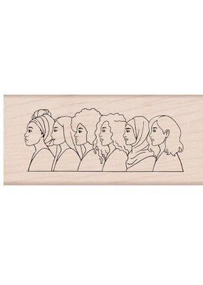 Hero Arts Stamp American Women