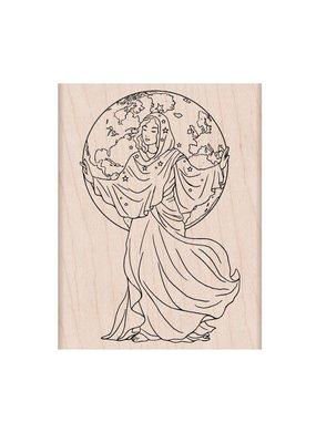 Hero Arts Stamp World Goddess