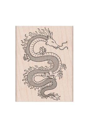 Hero Arts Stamp Flame Dragon