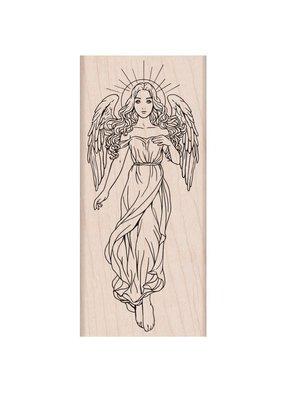 Hero Arts Stamp Heavenly Angel