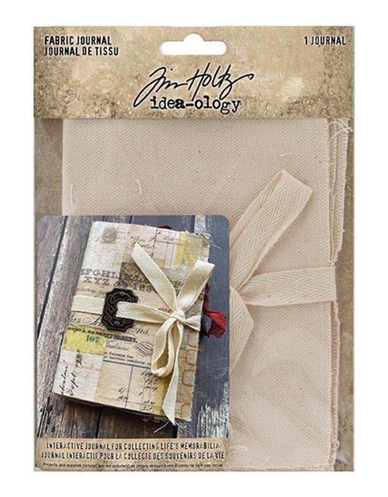 Tim Holtz Fabric Journal