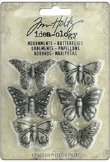 Tim Holtz Butterfly Adornments