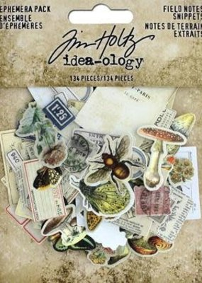 Tim Holtz Ephemera Snippets Field Notes