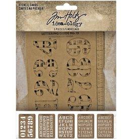 Tim Holtz Stencil Cards