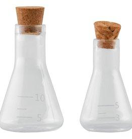Tim Holtz Laboratory Mini Corked Flasks