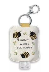 Studio Oh! Hand Sanitizer Holder Don't Worry Bee Happy
