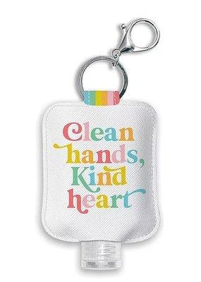 Studio Oh! Hand Sanitizer Holder Clean Hands Kind Heart