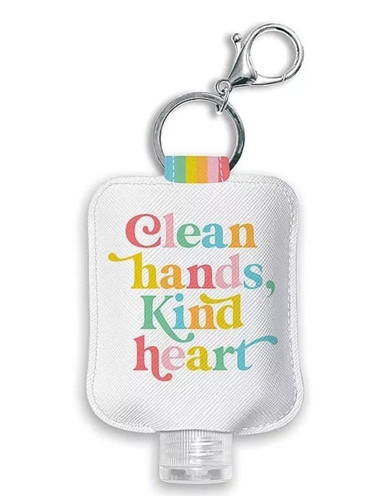 Studio Oh! Hand Sanitizer Holder Clean Hands Kind Heart