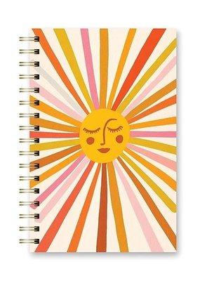 Studio Oh! Spiral Notebook Retro Sunshine