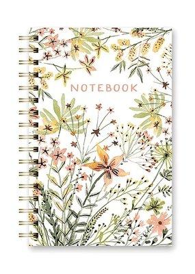 Studio Oh! Spiral Notebook Wildflowers