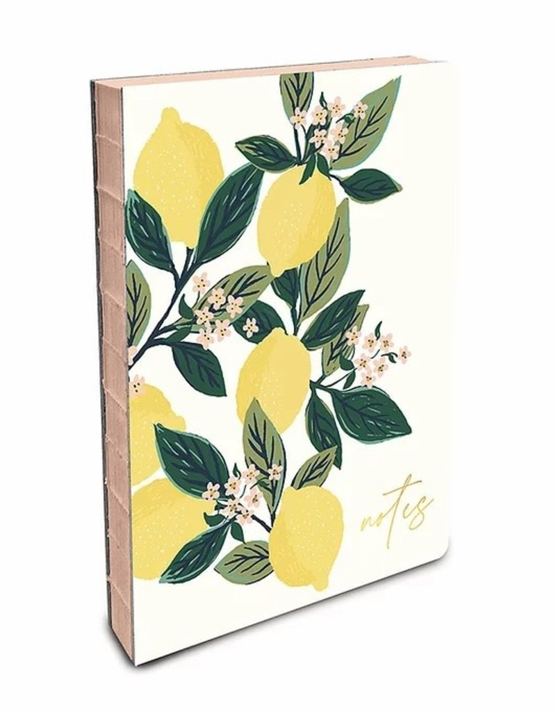 Studio Oh! Coptic Bound Journal Lemon Tree