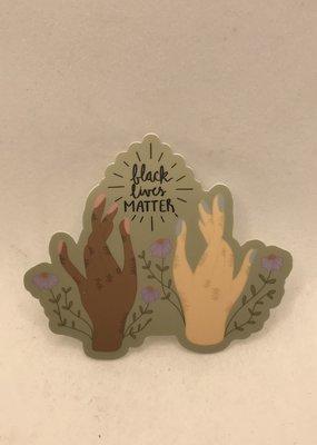 Dana Rohlfs Sticker Black Lives Matter Hands