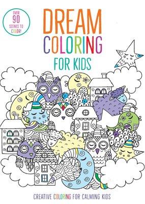 Simon & Schuster Dream Coloring for Kids