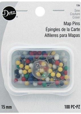 Dritz Map Pins