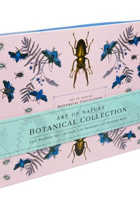 Simon & Schuster Boxed Cards Art of Nature: Botanical Collection