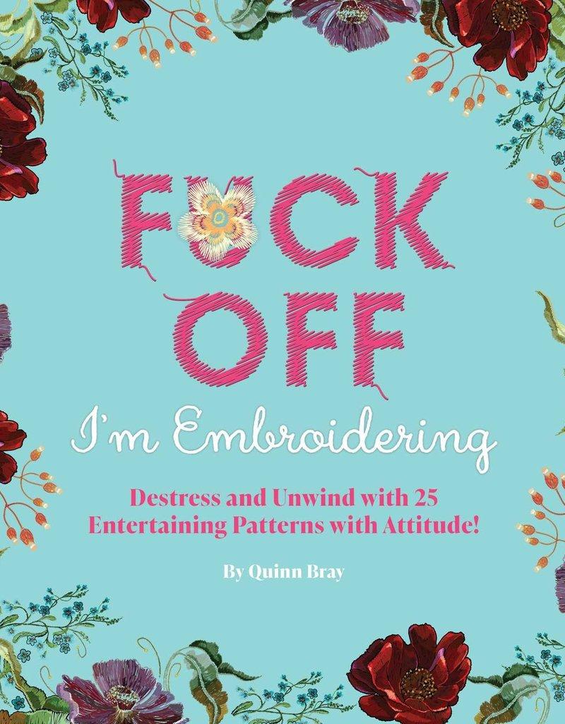 Simon & Schuster Fuck Off I'm Embroidering